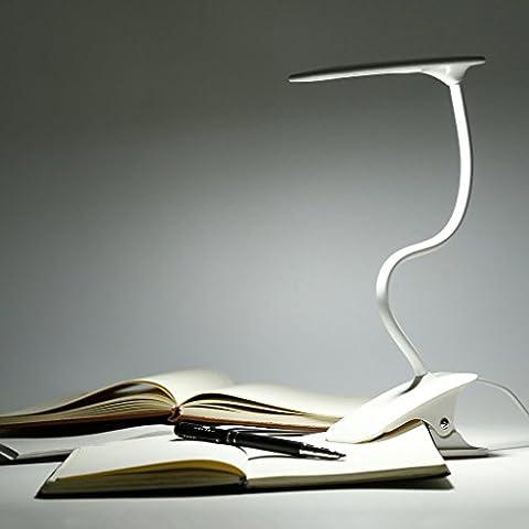 Desk Lamp, LESHP Clip on Reading Light for Desk Bedside Light LED Touch Table Lamp