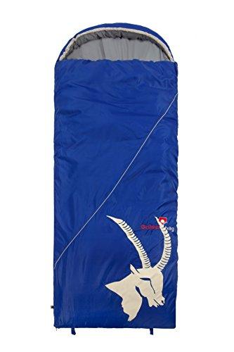 Grüezi-Bag Erwachsene Deckenschlafsack Cloud Decke Deluxe RV Rechts, Blau, 35 x 19 x 19 cm, 8451