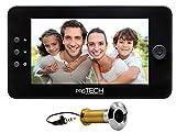 prsTECH® DoorCAM DC1 PLUS spioncino digitale elettronico per porta, telecamera