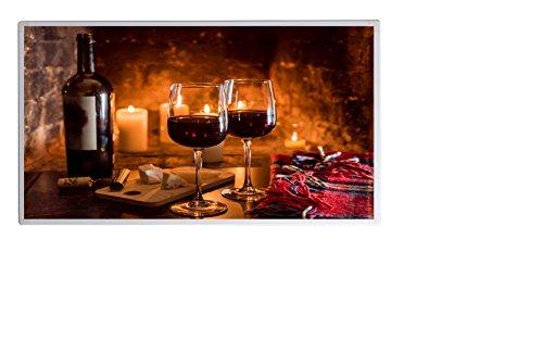 Weihnachtsaktion Bildheizung im Shop Infrarot Heizung 600 Watt Wein  Käse Fern Bild 2*