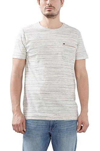 ESPRIT Herren T-Shirt 027ee2k030 Blau (Ink 415)