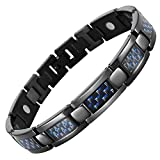 Moneekar Jewels Carbon Fiber Strong Magnetic Therapy Bracelet For Arthritis And Joint Pain
