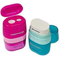 Swordfish Twin Combo Pencil Sharpener and Eraser