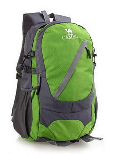 HWB/ 25L L Tourenrucksäcke/Rucksack Camping & Wandern / Klettern Draußen Feuchtigkeitsundurchlässig / tragbar / MultifunktionsGrün / Rot / Orange