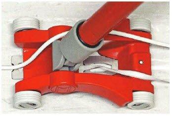 Viertelmondmesser Sandelholzgriff Schnellarbeitsstahl-Ledermesser