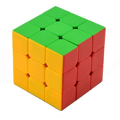 Dealspick 3X3X3 Speed Cube, High Stability Stickerless Cube, Rubik Cube for Kids