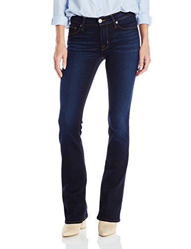Hudson Jeans Women's Petite Love Midrise Bootcut 5 Pocket Jeans, Redux, 28 -
