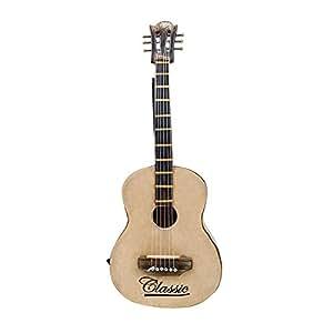 Craft Art India Decorative Handmade Dummy/Miniature of Guitar/Gitar {CAI-HD-0224/Size(Inch):14.5x1x5.5}