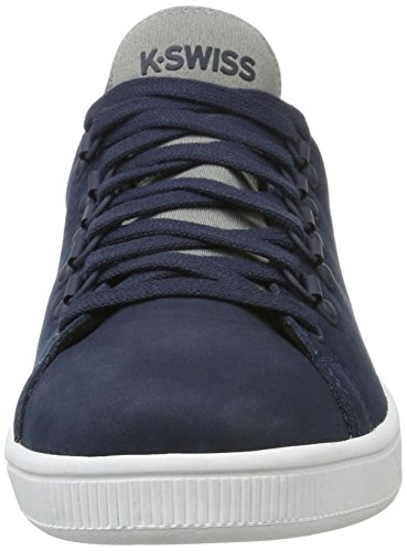 K-Swiss Lozan Sport, Sneakers Basses Homme Bleu (Blue Nights/neutral Gray/white)