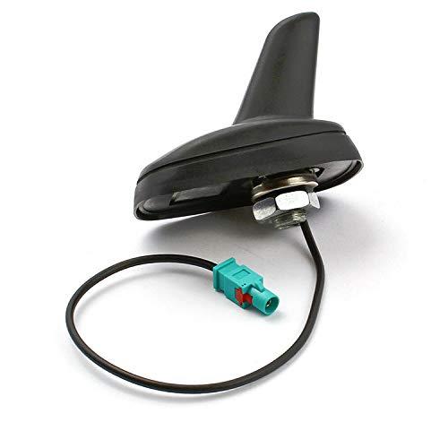 Romsion Accessori per Veicoli Antenna da Tetto Attiva del Veicolo Shark Fakra per VW Golf 5 6 Passat Polo Tiguan Touran T5