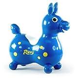 Blaues Rody Sprungferd inkl. Schaukel