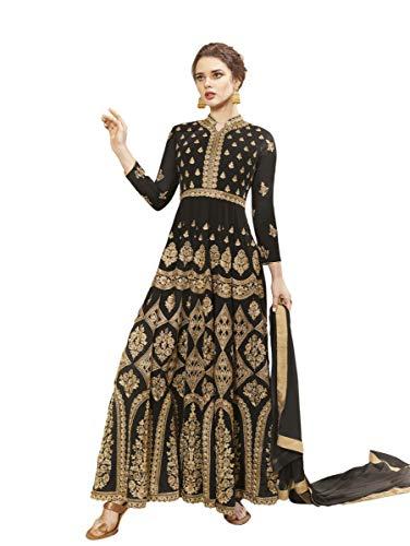 Indian Bollywood Designer Georgette Anarkali Salwar Kameez Semi-Sttiched A1094 Georgette Designer