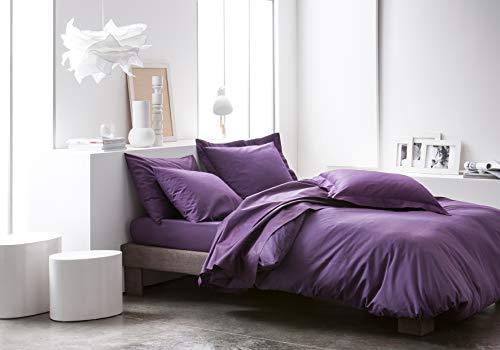 Today Hoy 201604 Tela algodón Planas púrpura Oscuro