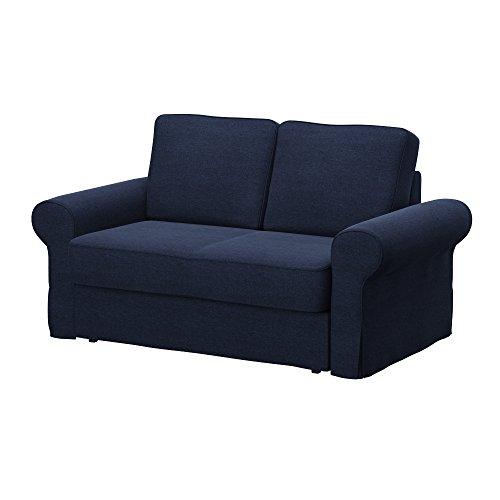 Soferia - IKEA BACKABRO Funda para sofá Cama de 2 plazas, Classic...