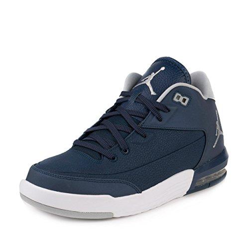 Nike Jordan Flight Origin 3, Scarpe da Basket Uomo, Azul (Midnight Navy / White), 46 EU