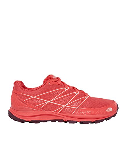 The North Face Zapatillas De Running Litewave Endurance Para Mujer Cayenne Red/Tropical Peach