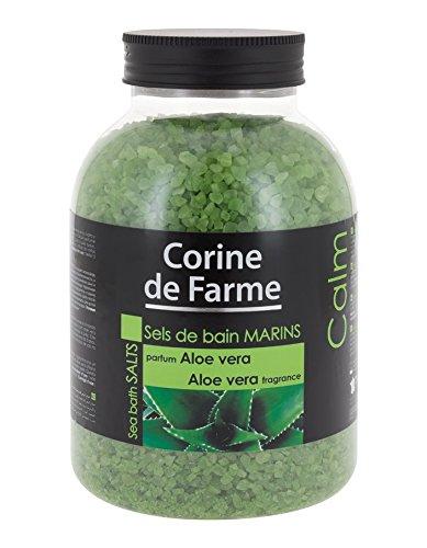 Corine de Farme – Sales de baño marinas, calmantes, de Aloe Vera