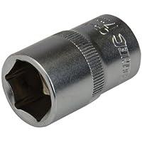 "Silverline 721677 - Vaso métrico de 1/2"" (17 mm)"