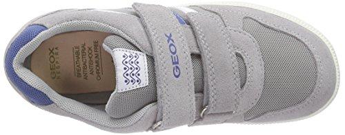 Geox JR VITA A, Sneakers basses garçon Gris (C0244)