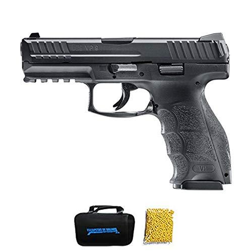 UMAREX HK VP9 M24 | Pistola de Airsoft Calibre 6mm (Arma Aire Suave de Bolas de plástico o PVC). Sistema: Muelle. 0.5 Julios.