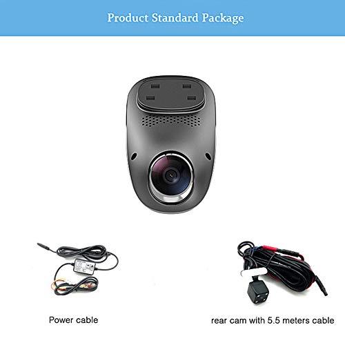Verdeckter Fahrrekorder, 1080p Hd, 3g-echtzeitvideo, Wifi-internet, Schwerkraftmessung, Gps-tracking, 24-stunden-parküberwachung, 6-schicht-objektiv