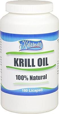 Kala Health - Superba® Krill Oil Licaps® Capsules Omega-3, Omega-7 and Omega-9 Fatty Acids. (180) from Kala Health Bv