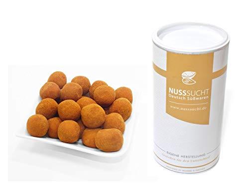 Marzipankartoffeln Zimt & Kakao   Lübecker Marzipan   aus Mittelmeermandeln (250g)