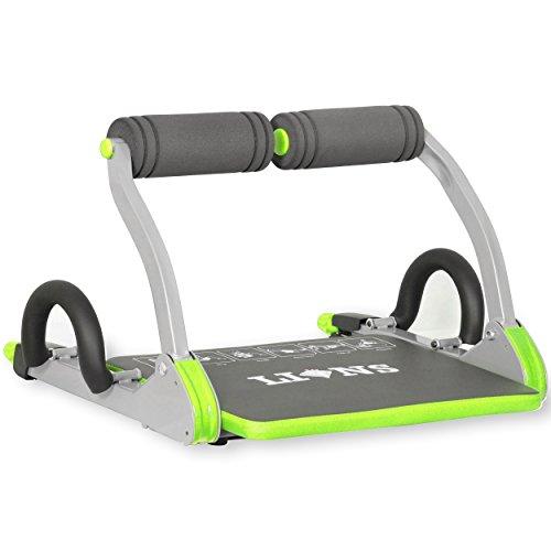 Máquina de abdominales de Lions® lo máximo para formar y tonificar tus abdominales de manera inteligente, máquina de entrenamiento para el hogar, Green,