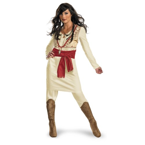 Prince Of Persia Princess Tamina Deluxe Costume Adult (Of Persia Prince Kostüm)