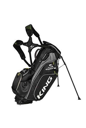 Cobra Stecker King Stand Bag Golf 2018 King Stand Bag Schwarz, One - Bag Cobra Stand