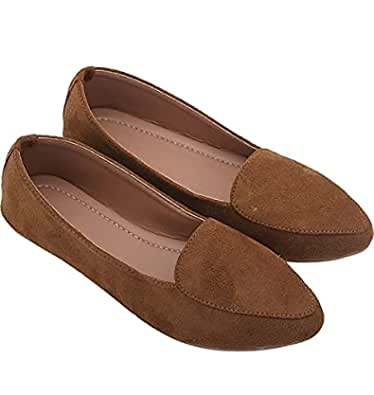 Zap Women's Belly- Brown (S.NO_26) Size-6
