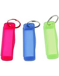 20 St.Schlüsselschilder Schlüsselkennzeichnung Schlüsselanhänger Metall Anhänger