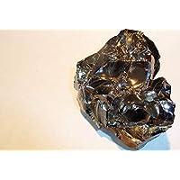 Boviswert EDEL SCHUNGIT, seltene große Brocken, 123,10g, 7x6x3cm, schön und kraftvoll, aus Karelien, mit Zertifikat! preisvergleich bei billige-tabletten.eu