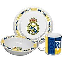 Real Madrid CF Set de desayuno de cerámica