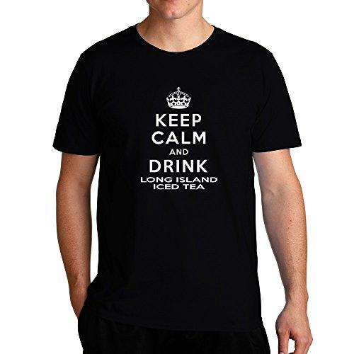 Eddany Keep calm and drink Long Island Iced Tea T-Shirt Long Island Iced Tea