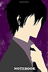 "Notebook: Kyoya Hibari , Journal for Writing, College Ruled Size 6"" x 9"", 110 Pages"