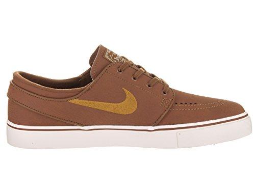 Nike SB Zoom Stefan Janoski L Leather Ale Brown/Desert Ochre Sail Marrone