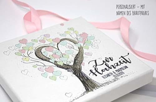 geldgeschenk geld verpackung zur hochzeit personalisiert tree of love handmade
