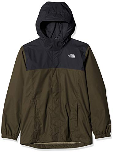 THE NORTH FACE Jungen Resolve Reflective Jacke, New Taupe Green, XL -