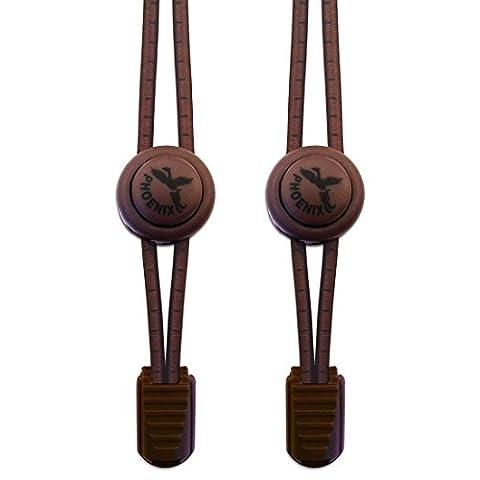 Elastische Schnürsenkel - Perfekt für Sportschnürsenkel. Einfaches Anbringen . Ebenso