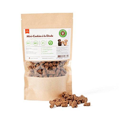 Hundesnack, Hundekeks, Puten-Minis Cookies für Hunde, 100g, PETS DELI - 2