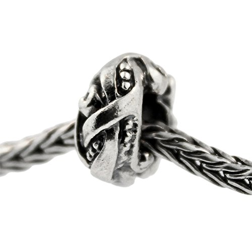 Authentic Trollbeads Sterling Silber 11432 Jugend, Silber