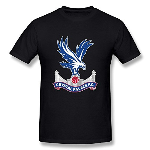 Delifhted Men's Football Team Crystal Palace FC Logo T-Shirt