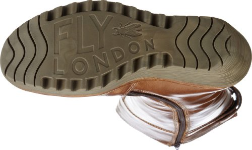 Fly London Yush 2P500336-1, Stivali donna Beige (Beige (camel 008))