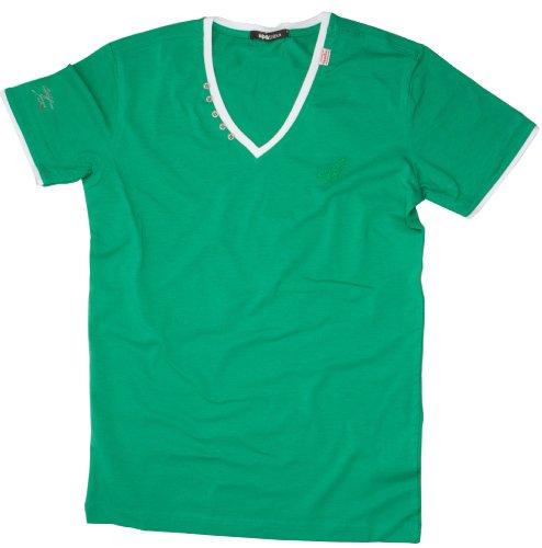 CIPO BAXX Herren T-Shirt mit dem Motiv CB96 Short Sleeve Grün