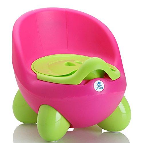 Lil' Jumbl Potty Training Eggie | Kids Toilet Chair Choice (Pink)