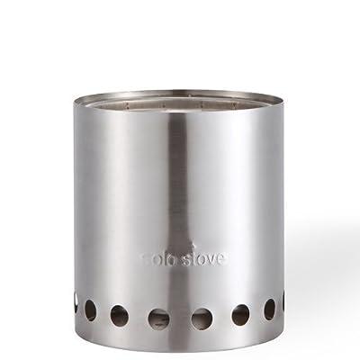 Solo Stove Titan - die größere Version des Solo Stove Originalmodells. Leichter Holzofen mit Rocket-Kochsystem. Kompaktes Küchenset für Backpacking, Camping, Überlebenstraining, Vorbereitung auf Notfälle. Verbrennt Zweige - keine Batterien oder Kanister m