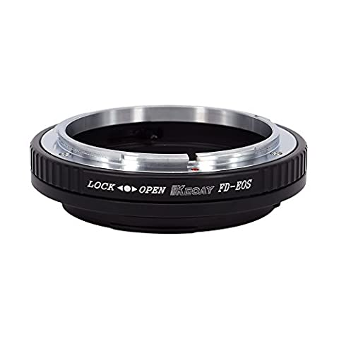 KECAY Lens Mount Adapter,Canon FD and FL Mount Lens to