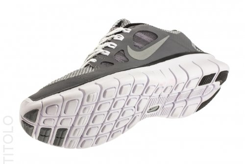 Nike Free 5.0 (GS) chaussure de course Enfant cl gry mttl silver-blk wlf-gry