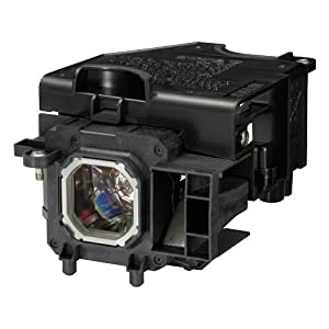 WEDN NP15LP/ 60003121 Replacement Projector Lamp With Housing for NEC M230X/M260W/M260X/M260XS/M271W/M271X/M300X/M300XG/M311X from WEDN